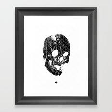 TML SKULLIFASHION Women Framed Art Print