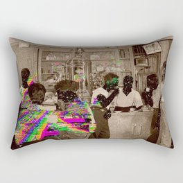 the Tempo of Bottoms up Rectangular Pillow