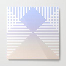 striped nuance Metal Print