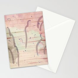 dreamscape in pink Stationery Cards