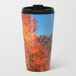 Fall Across the Street Travel Mug