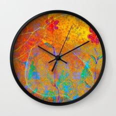 Magical Carpet Wall Clock