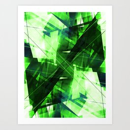 Elemental - Geometric Abstract Art Art Print