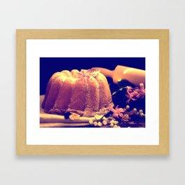 Mother's Day Cake Framed Art Print