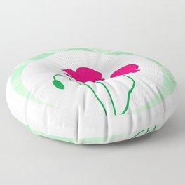 Poppies Floor Pillow