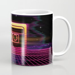 Sunset Cassette Coffee Mug