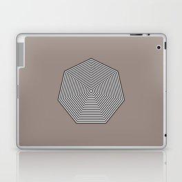 Basic geometry: heptagon Laptop & iPad Skin