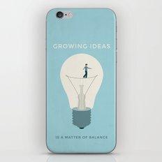 Growing ideas iPhone & iPod Skin