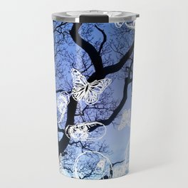 Llansteffan woodland Travel Mug