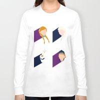 frozen Long Sleeve T-shirts featuring Frozen by laurenschroer