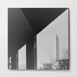 Abstract DC Metal Print