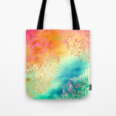 Watercolor Wonderland Tote Bag