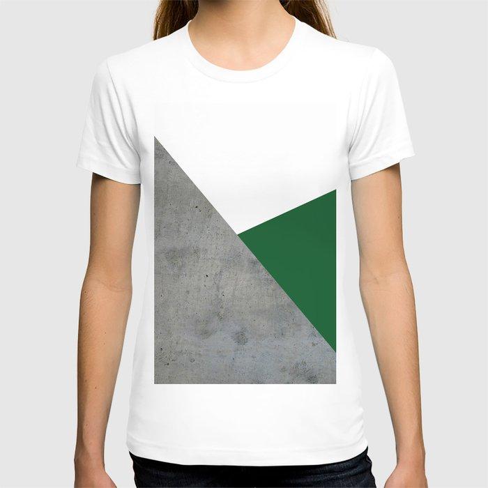 Concrete Festive Green White T-shirt