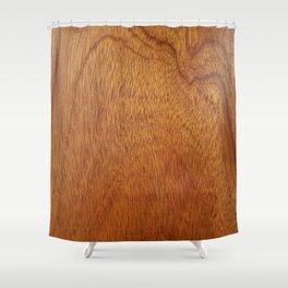 I Feel Woody Oh So Wood Grain Man Cave Shower Curtain