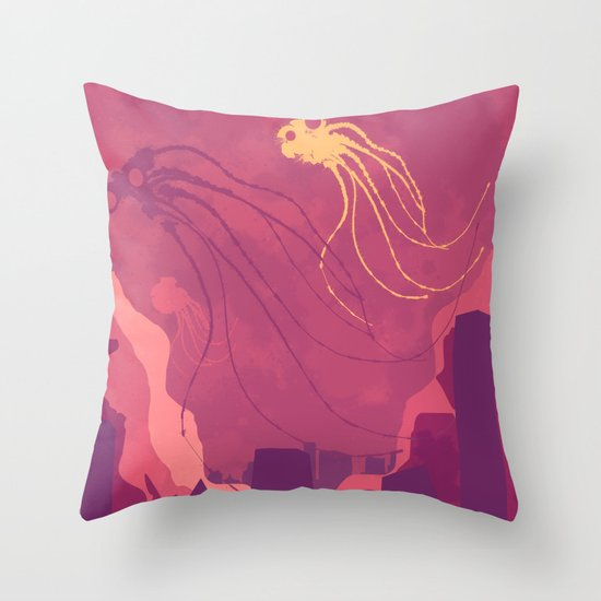 They are here! Throw Pillow