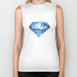 Blue Diamond Biker Tank