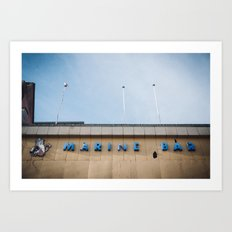 Marine Bar Art Print