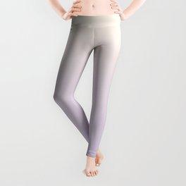 VIOLET FUMES - Minimal Plain Soft Mood Color Blend Prints Leggings