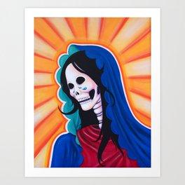 Dia de los Muertos - La Dolorosa Art Print