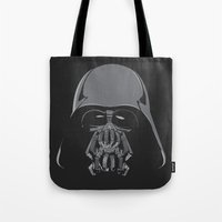 bane Tote Bags featuring Darth Bane by Moysche Designs
