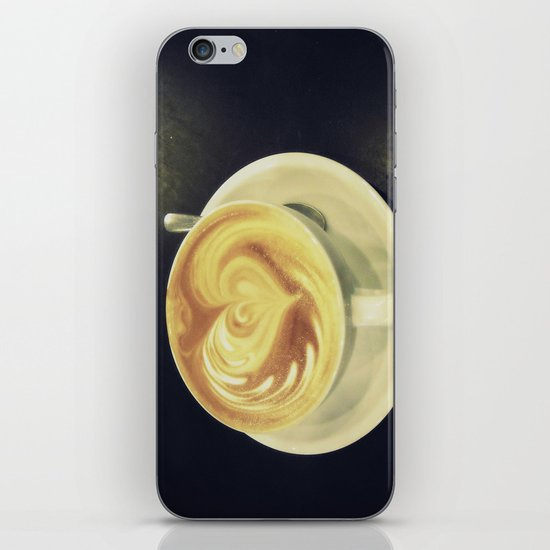 Latte Love ~ coffee iPhone & iPod Skin