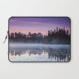 Colorful Summer Sunrise in the Boundary Waters Laptop Sleeve