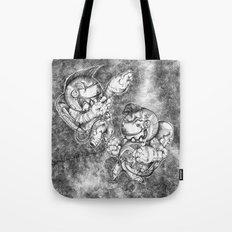 Petite Astronauts  Tote Bag
