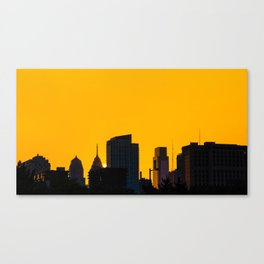 vibrant philly Canvas Print