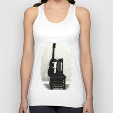 This Chair and Guitar Weren't Always So Lonely Unisex Tank Top
