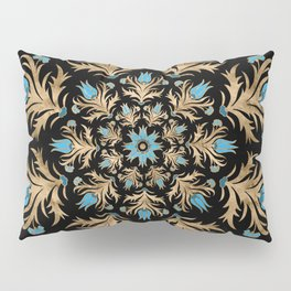 Turkish tulip - Ottoman tile 4 Pillow Sham