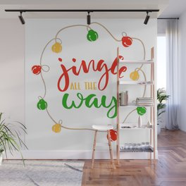 Jingle all the Way Wall Mural