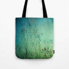 Between Autumn and Winter Tote Bag
