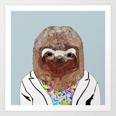 1980's Sloth Art Print