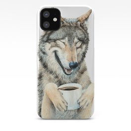 Coffee in the Moonlight iPhone Case