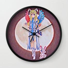 Moonrabbit Wall Clock