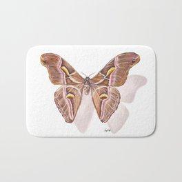 Pinned Muse - Atlas Moth Bath Mat