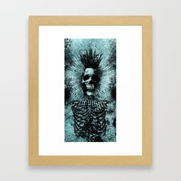 Death King Framed Art Print