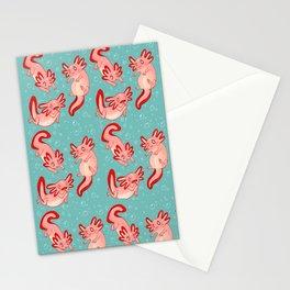 Axolotls Stationery Cards