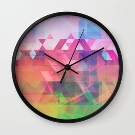 Coming Through in Waves II Wall Clock