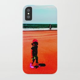 hey girl iPhone Case