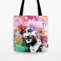 john snow Tote Bags featuring John by Nato Gomes