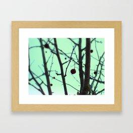 winter's toll Framed Art Print