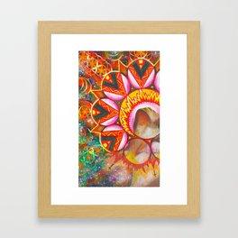 Masculine Energy Framed Art Print