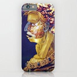Giuseppe Arcimboldo The Allegory of Fire iPhone Case