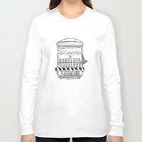train Long Sleeve T-shirts featuring Train by Ocso