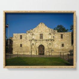 Empty Alamo Serving Tray