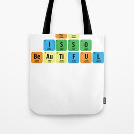 Science Periodic table Element Life Gift Tote Bag