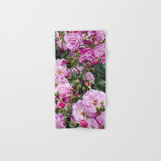 Beauties of the Garden Hand & Bath Towel