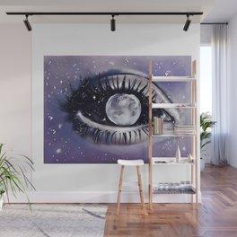 moony eye Wall Mural