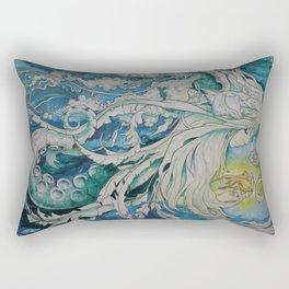 The Golden One II Rectangular Pillow